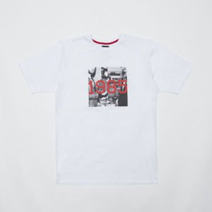 "Backard Cartel koszulka t-shirt Rasmentalism ""1985"" white"