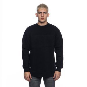 Backyard Cartel bluza Padded crewneck long fit black