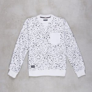 Backyard Cartel bluza Splash Crew white