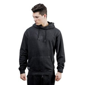 Backyard Cartel bluza sweatshirt Back 2 Back Hoody washed black QUICKSTRIKE