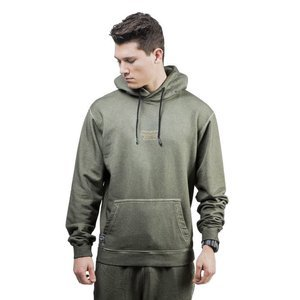 Backyard Cartel bluza sweatshirt Back 2 Back Hoody washed khaki QUICKSTRIKE