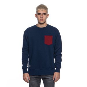 Backyard Cartel bluza sweatshirt Court crewneck navy
