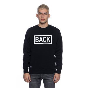 Backyard Cartel bluza sweatshirt Inset crewneck black