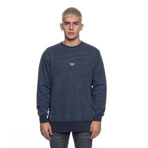 Backyard Cartel bluza sweatshirt Mineral Crewneck navy heather QUICKSTRIKE