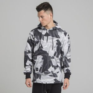 Backyard Cartel bluza sweatshirt Paper Camo hoody multicolor