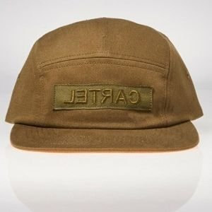 Backyard Cartel czapka BYC 5 Panel Cap Immortal khaki
