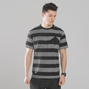 Backyard Cartel koszulka t-shirt Dots Stripes black