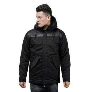 Backyard Cartel kurtka jacket Crown black