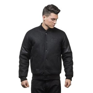 Backyard Cartel kurtka jacket Inset black