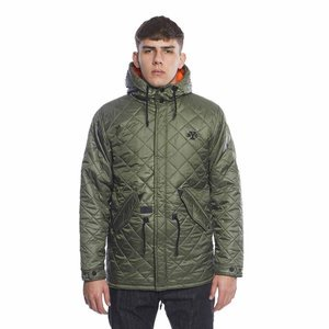 Backyard Cartel kurtka jacket Parka Padded khaki