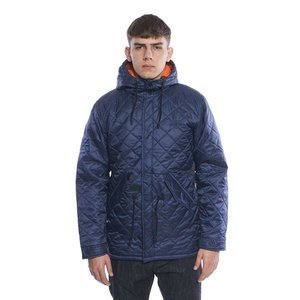 Backyard Cartel kurtka jacket Parka Padded navy