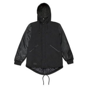 Backyard Cartel kurtka zimowa Baseball Parka black