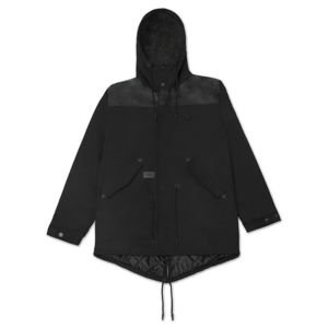 Backyard Cartel kurtka zimowa Parka black