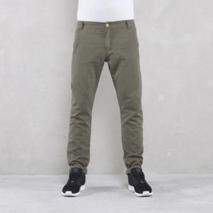Backyard Cartel spodnie Chinos Back anti fit khaki