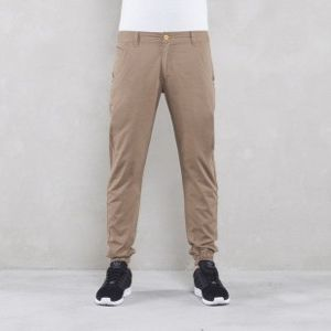 Backyard Cartel spodnie Jogger  jogger fit beige