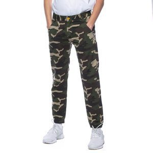 Backyard Cartel spodnie Jogger jogger fit woodland camo