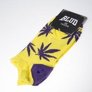 Blud skarpety socks Kush no show yellow