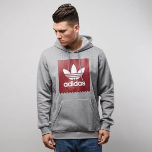 Bluza Adidas Originals Solid BB Hood core heather / collegiate burgundy BR5015