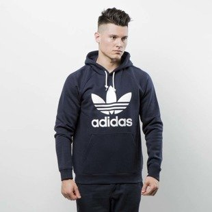 Bluza Adidas Originals Trefoil Hoody legend ink BR4849