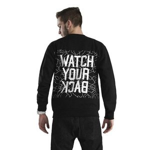 Bluza Backyard Cartel Crewneck Watch black