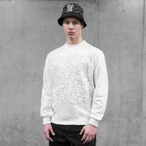 Bluza Backyard Cartel Crewneck Watch white