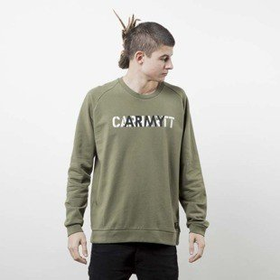Bluza Carhartt WIP CA Training rover green / multicolor