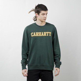 Bluza Carhartt WIP College Sweat conifer / quince