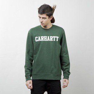 Bluza Carhartt WIP College Sweat fir / white