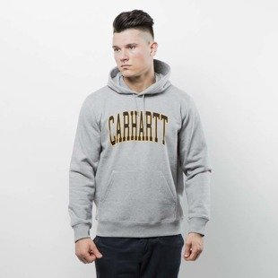 Bluza Carhartt WIP Hooded Division Sweat grey heather