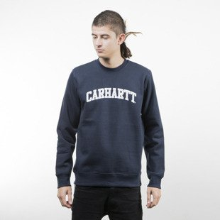 Bluza Carhartt WIP Yale Sweat navy / white