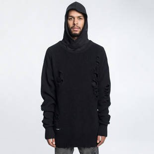 Bluza Cayler & Sons BLACK LABEL CSBL Operator Oversized Hoody black knit CSBL-HD16-AP-10