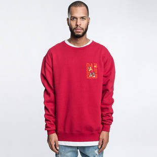 Bluza Cayler & Sons WL Dabbin Crew Crewneck red / orange / mc WL-CAY-HD16-AP-08