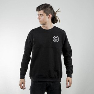 Bluza Crooks & Castles Thomas Crown Dolman black