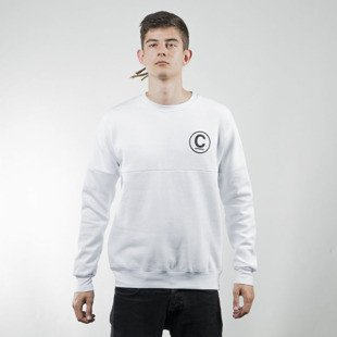 Bluza Crooks & Castles Thomas Crown Dolman white