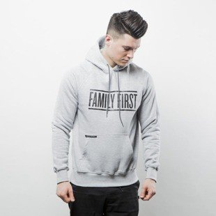 Bluza Intruz sweatshirt Family Hoodie grey heather