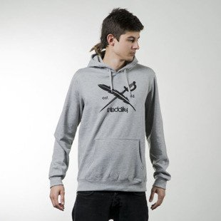 Bluza Iriedaily Daily Flag Hooded grey