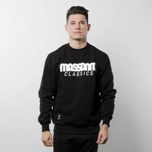 Bluza Mass Denim Sweatshirt Crewneck Classics black