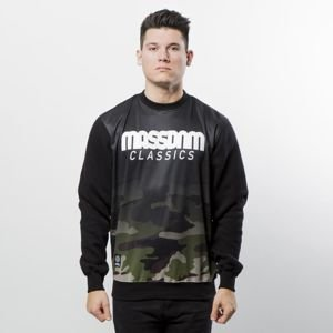 Bluza Mass Denim Sweatshirt Crewneck Eclipse black