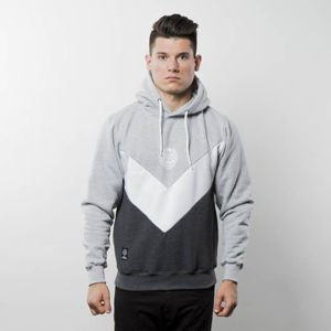 Bluza Mass Denim Sweatshirt Hoody Fang heather grey