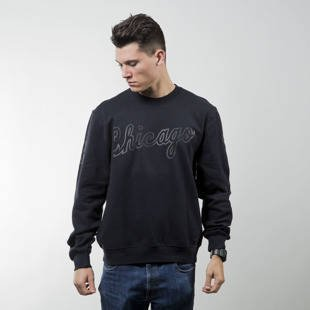 Bluza Mitchell & Ness crewneck Chicago Bulls black Bank Shot