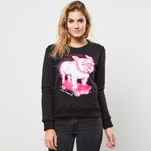 Bluza POGO WMNS Crewneck Bulldogs Girls black