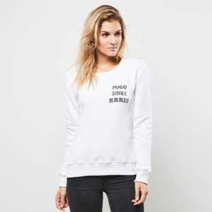 Bluza POGO WMNS Crewneck Love Hate Girls white