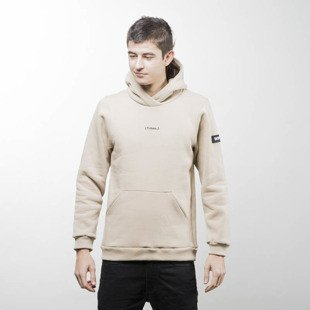 Bluza We Peace It Hoodie Futura sand