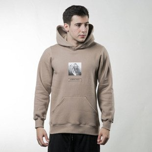 Bluza We Peace It Hoodie Nobody's Perfect beige