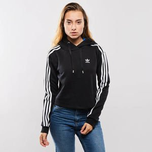 Bluza damska Adidas Originals 3 Stripes Hoodie black