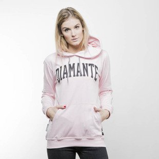 Bluza damska Diamante College - Light Hoodie D pink