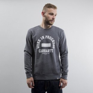 Carhartt WIP bluza crewneck WIP dark grey heather