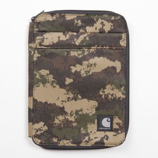 Carhartt WIP etui Jenkins IPad Case camo painted / green