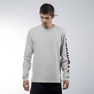 Carhartt WIP koszulka longsleeve College Left snow heather / chianti