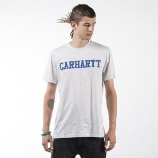Carhartt WIP koszulka t-shirt College LT ash heather / blue